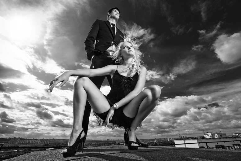Couples Photoshoot with MAC Makeover, 2 A4  Prints & Voucher