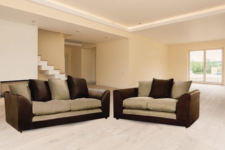 sofa set deals uk ~ wowcher  deal  abakus direct£349 instead of £88401