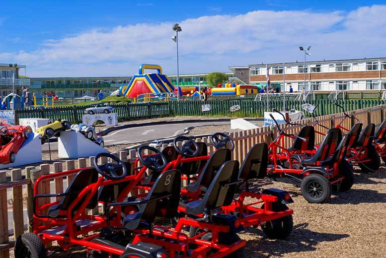 From £199 (at Pontins) for a seven-night family summer holiday for up to four people - choose from four locations!