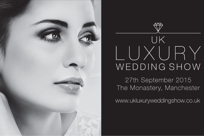 £10 instead of £40 for two tickets to the UK Luxury Wedding Show with Champagne on arrival, or four tickets for £19, Manchester - save up to 75%