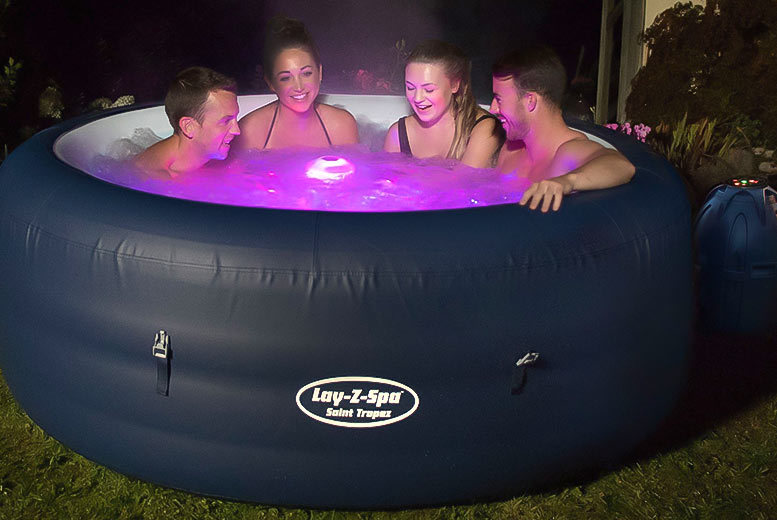 £379 instead of £970 (from Eurotrade) for a LayZSpa six person inflatable hot tub  save 61