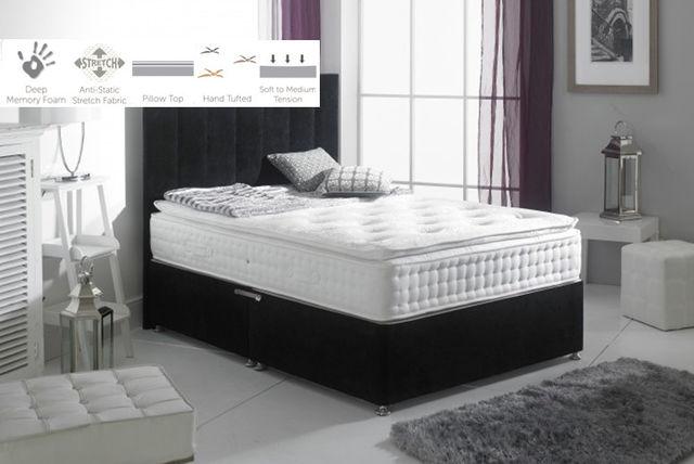aurora memory sprung mattress