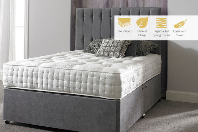 Cashmere 4600 pocket sprung mattress