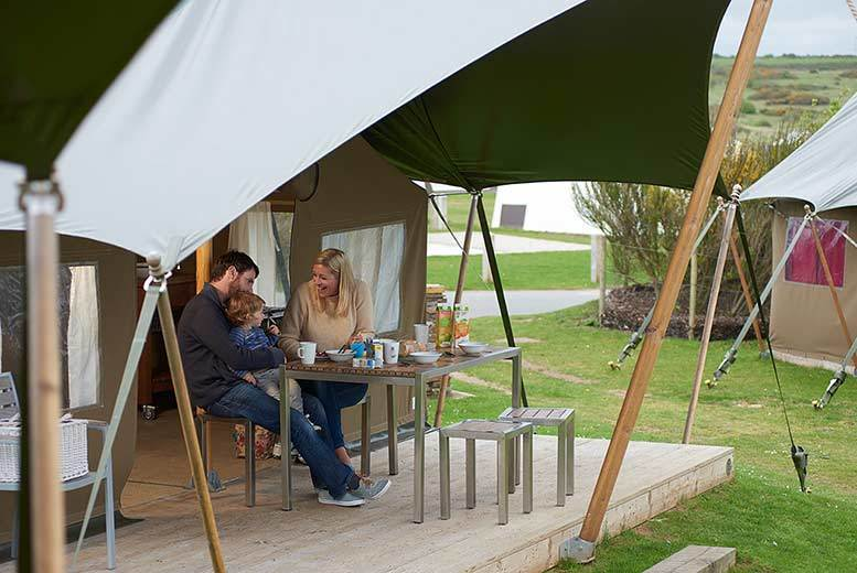 £49 (at Haven) for a 4-night self-catered weekday glamping break for up to 5 people, £79 for a 3-night weekend break - choose from 6 holidays parks and save up to 62%