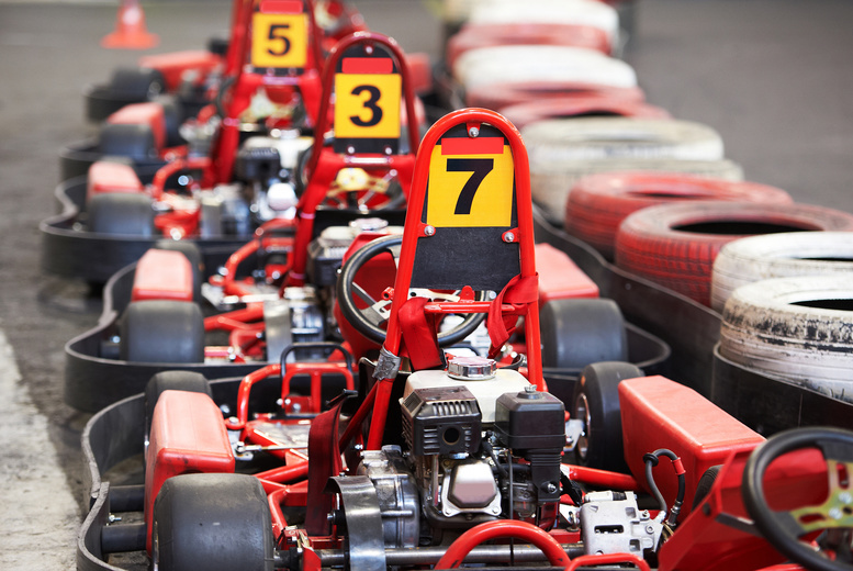 From £15 for a session of indoor go karting from Chequered Flag Karting, Leeds - save up to 54%