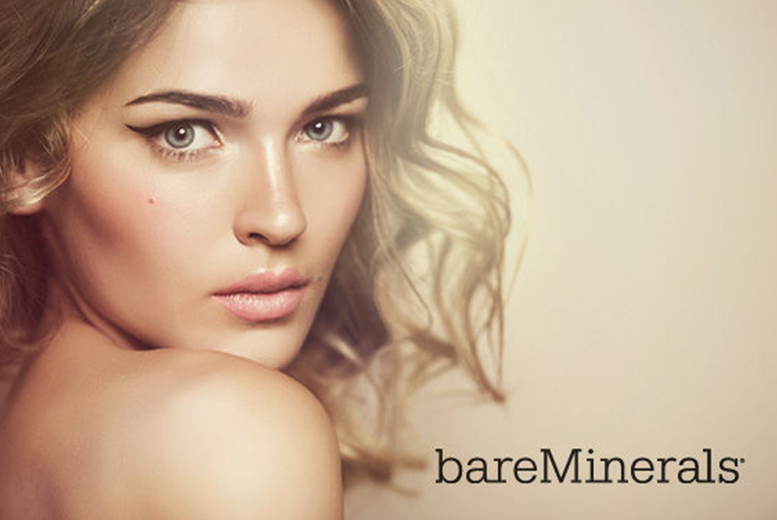 £5 for a 30-minute makeup tutorial for two people at bareMinerals in Jenners, Edinburgh