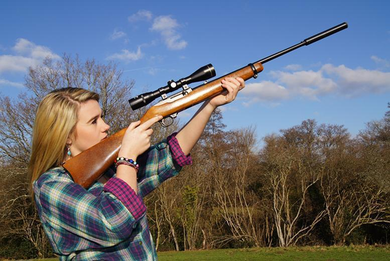 £12 for a 1-hour air rifle experience, £15 for a 1-hour archery experience or £22 for both at Unlimited Madness, Edwinstowe - save up to 52%