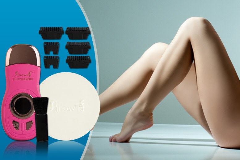 £49 instead of £179.99 (from SalonBoxed) for a Showliss Pro hair removal device - save 73%