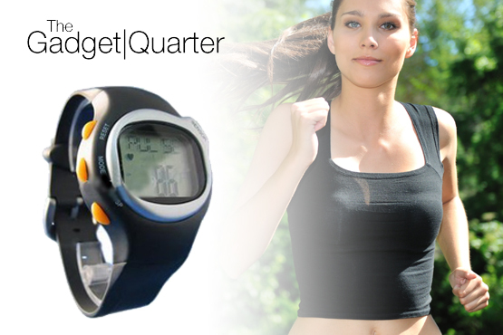 £11.99 instead of £44.99 for a heart rate monitoring sports watch, from The Gadget Quarter - get your pulse racing when you save 73%