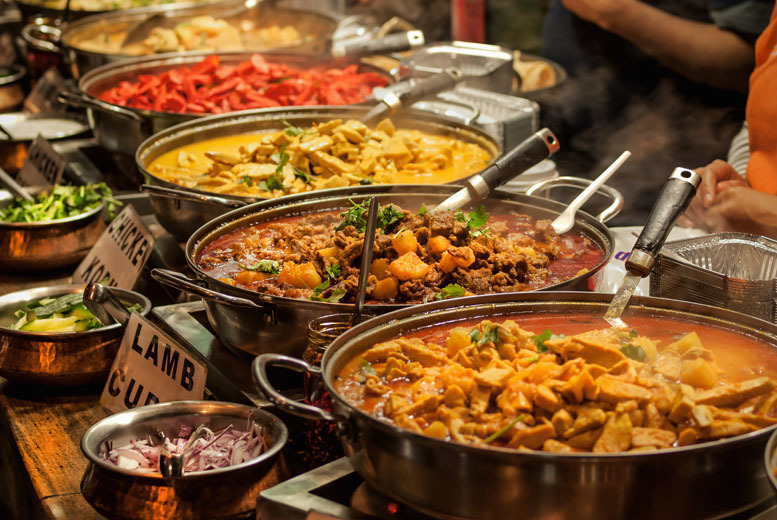 £12 instead of up to £27.98 for an 'all you can eat' Indian buffet for two at Riverside Lounge - save up to 57%