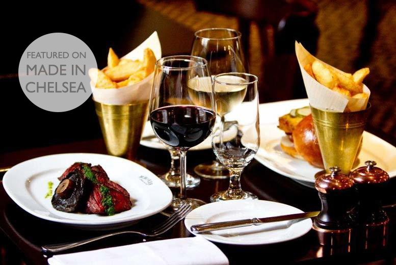 £29 instead of up to £59.50 for a steak or lobster burger with fries & bottle of wine for 2 at Reform Social and Grill, Marylebone - save up to 51%