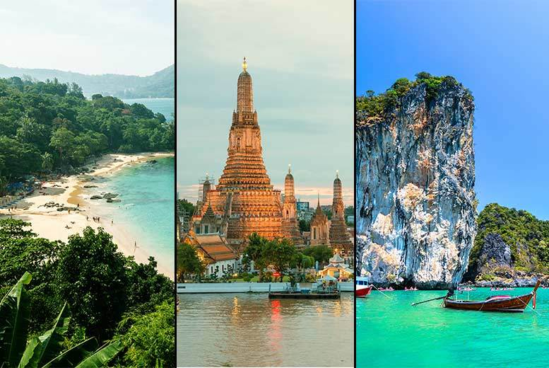 From £599pp (from Weekender Breaks) for a 10night Thailand break to Bangkok including flights and a choice of three beach destinations  save up to 31
