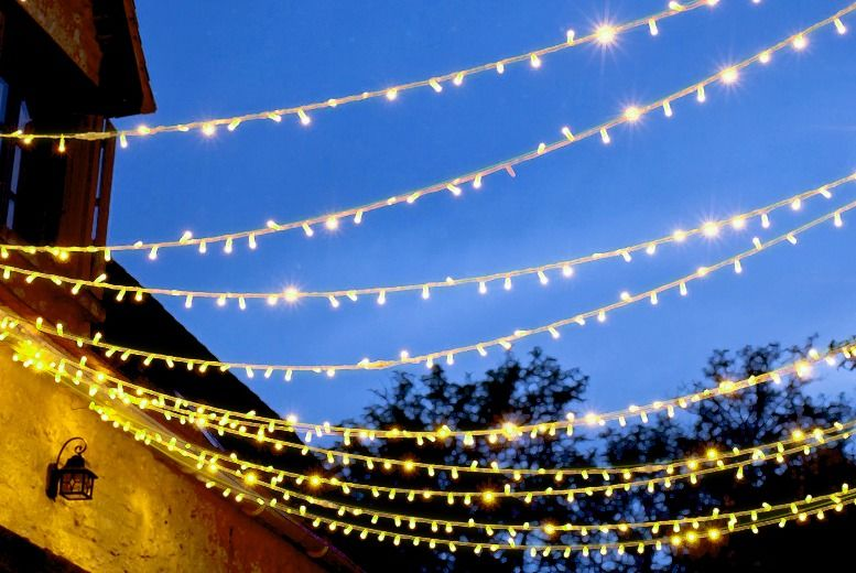 From £4.99 for a 50, 2x 50, 100, 2x 100, 200 led solar string lights from Ckent Ltd - save up to 75%