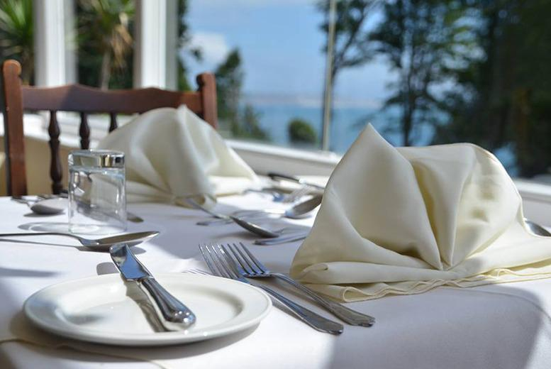 From £199 (at Luccombe Manor) for a 2-night Isle of Wight break for 2 including a 3-course dinner, breakfast, leisure access and return ferry - save up to 38%