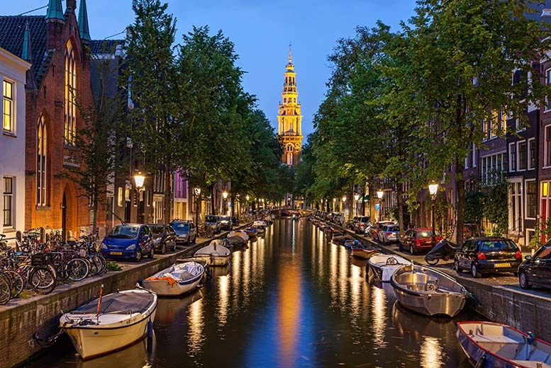 From £149pp (with Cruise & Maritime Voyages) for a two-night full-board weekend mini cruise from London to Amsterdam including flight from Amsterdam to London!