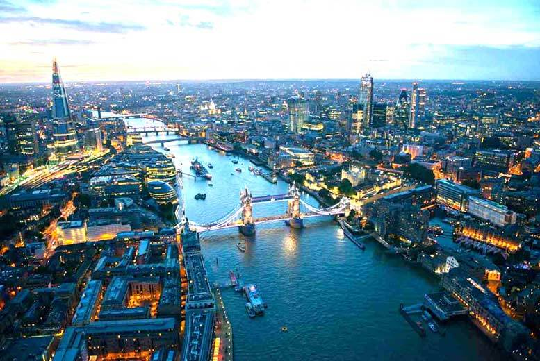 £12 for a Thames party boat cruise with sparkling wine reception ticket for one, £22 for two or £39 for four, Festival Pier, Southbank - save up to 44%