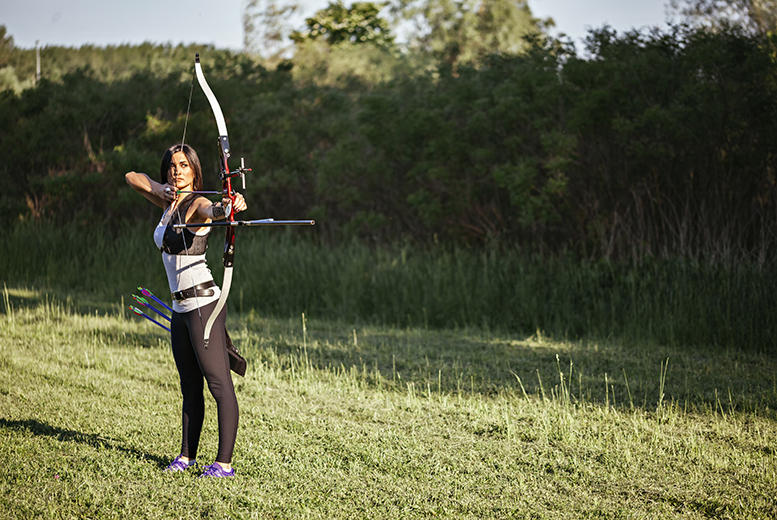 £34 instead of up to £79.95 for a half-day afternoon archery and crossbow experience for one person, £64 for two at Aim Archery, East Sussex - save up to up to 57%