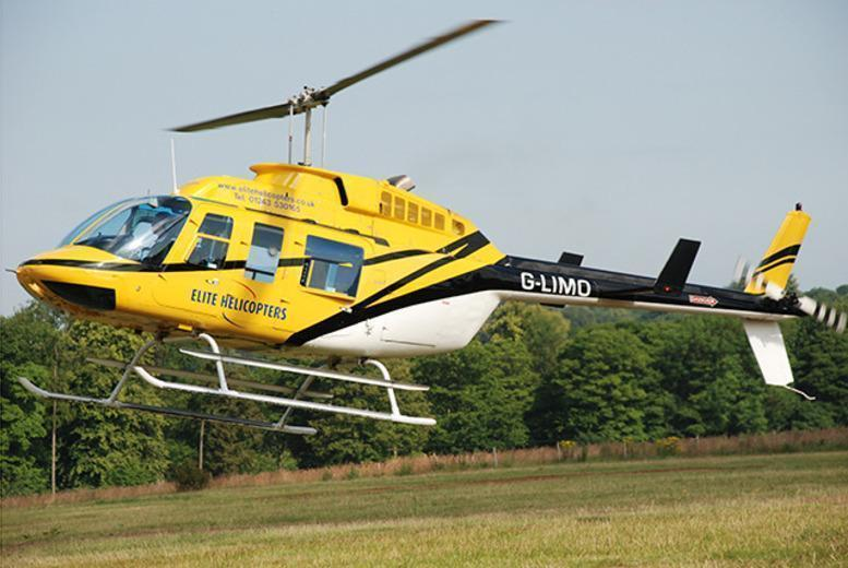 £41 for 10-minutes, £69 for 20-minutes or £105 for a 30-minute flight with Elite Helicopter Flights - save up to 31%