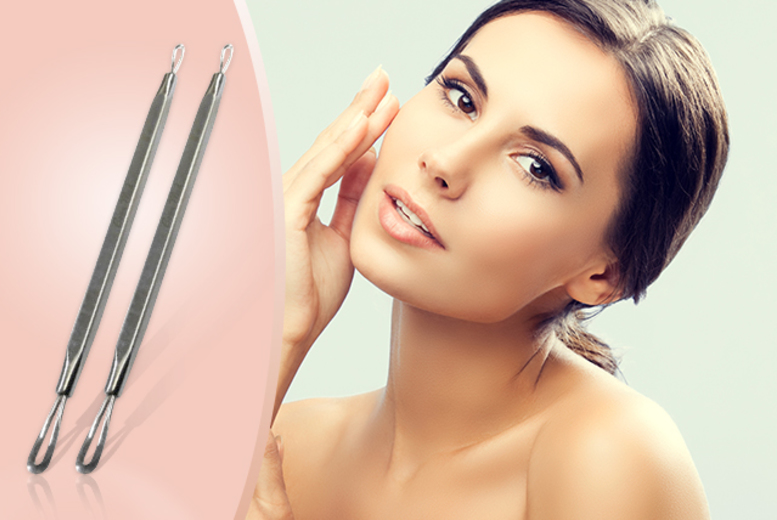 £2.99 instead of £9.99 (from Quick Style) for a double-ended skin 'blemish extractor' tool, £4.99 for two or £6.98 for three - save 70%