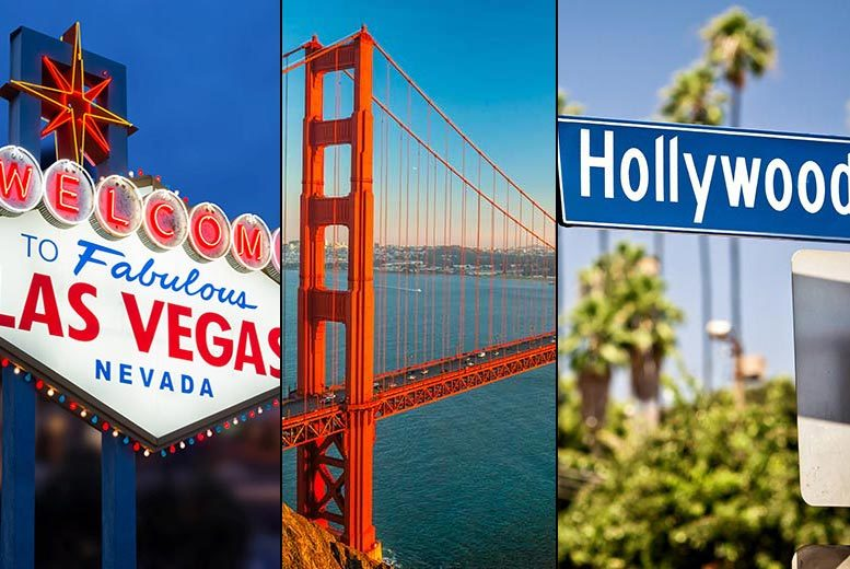 From £599pp (from Weekender Breaks) for a sevennight Las Vegas San Francisco and LA holiday with all flights or pay a £150pp deposit today  save up to 46