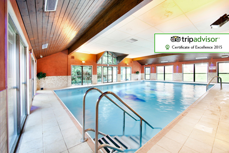 £69 (at Best Western Leyland Hotel, Preston) for an overnight stay for two including breakfast, and health club access, or £109 for a two-night stay - save up to 50%