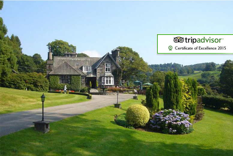 From £169 (at Broadoaks Country House, Windermere) for an 5* overnight stay for two including breakfast, dinner, cream tea, spa access and late check-out - save up to 46%