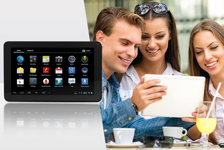 "£45 instead of £209.99 (from Chimp Electronics) for a 9"" dual core Android tablet - stay updated on the go and save 79%"