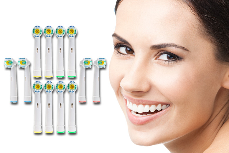 £7 (from Ugoagogo) for 12 Oral Bcompatible 3D whitening toothbrush heads