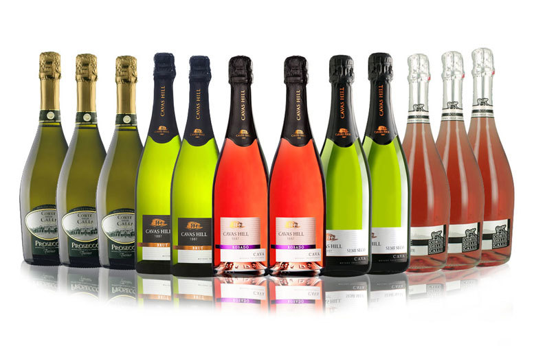 £49 instead of £129.57  (from San Jamón) for a case of 12 bottles of Prosecco and Cava - save a sparkling 62%
