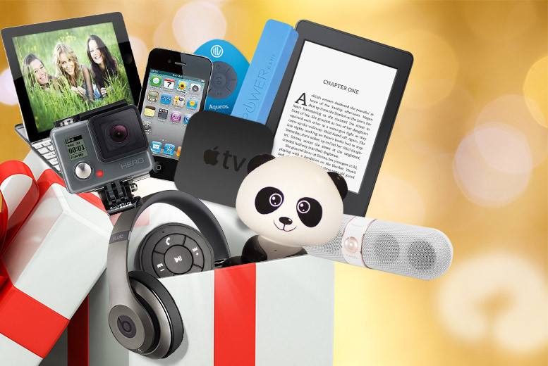 £10 for Wowcher Mystery Electronics Box #1, £15 for Box #2 - products include Amazon Kindle, Beats by Dre headphones, Apple TV, Tablet, GoPro and more!