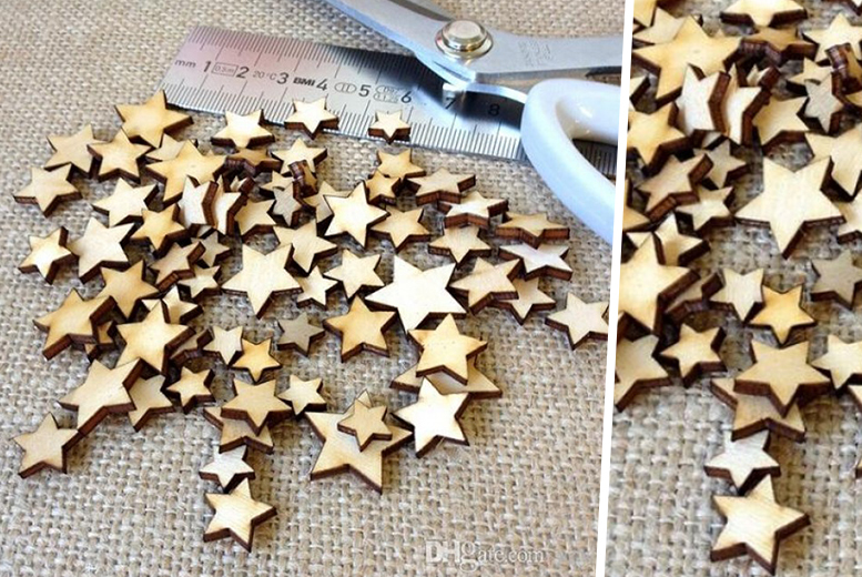 £2 instead of £15 (from Alvi's Fashion) for 50 plywood stars, or £4 for 100 - save up to 87%
