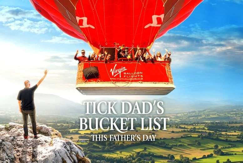 £99 for an Anytime Plus hot air balloon experience with Champagne for one person £198 for two  choose from over 100 UK locations and save up to 51