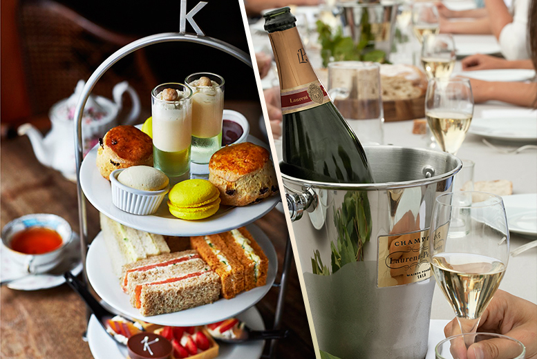 £34 instead of £69.90 for a Champagne afternoon tea for 2 at Kettner's, Soho - save 51%