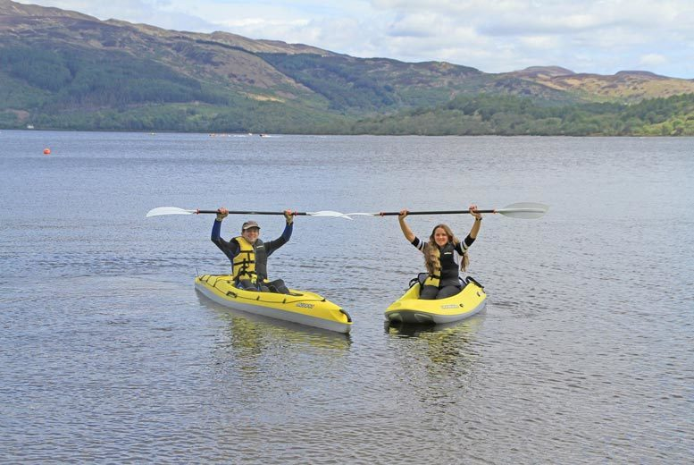 From £13 for a paddleboard or kayak experience for one person, or from £15 for a twin or triple kayak experience at Loch Lomond Leisure - save up to 48%