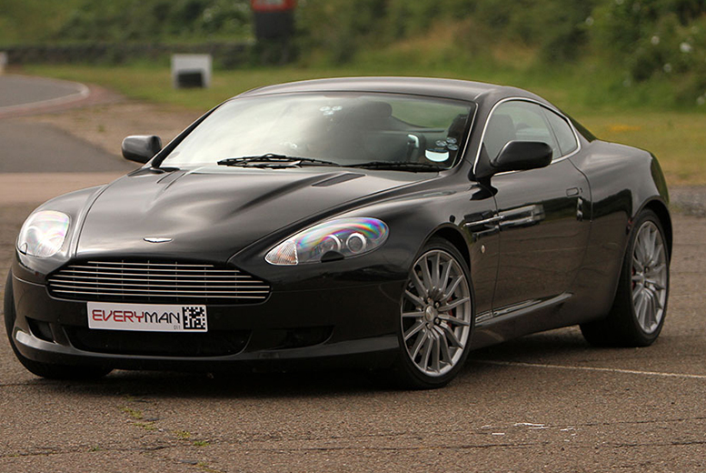 £39 for an Aston Martin 'Blast' 3-mile driving experience including a photo or £69 for a 'Thrill' 6-mile experience with 2 demonstration laps and a photo - save up to 43%