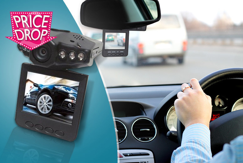 £14.99 instead of £99.99 (from eGlobal Shoppers) for an in-car accident camera - get some added security on the road and save 85%