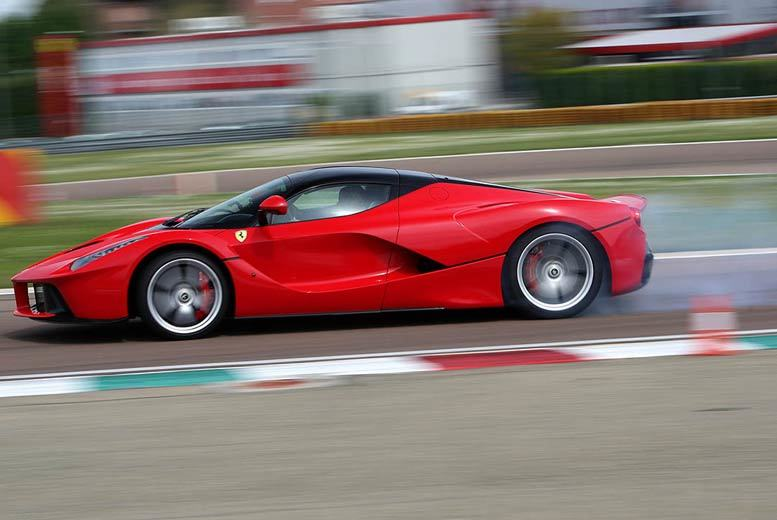 £134 for a 2½-hour 'Awesome Foursome' supercar driving experience at a choice of five locations with Activity Superstore - buckle up!