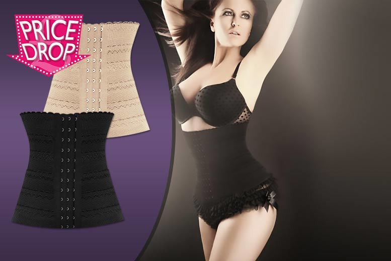£9.99 instead of £44.95 (from Who Runs The World) for a 'pin-up waist trainer' - choose from two colours and save up to 78%