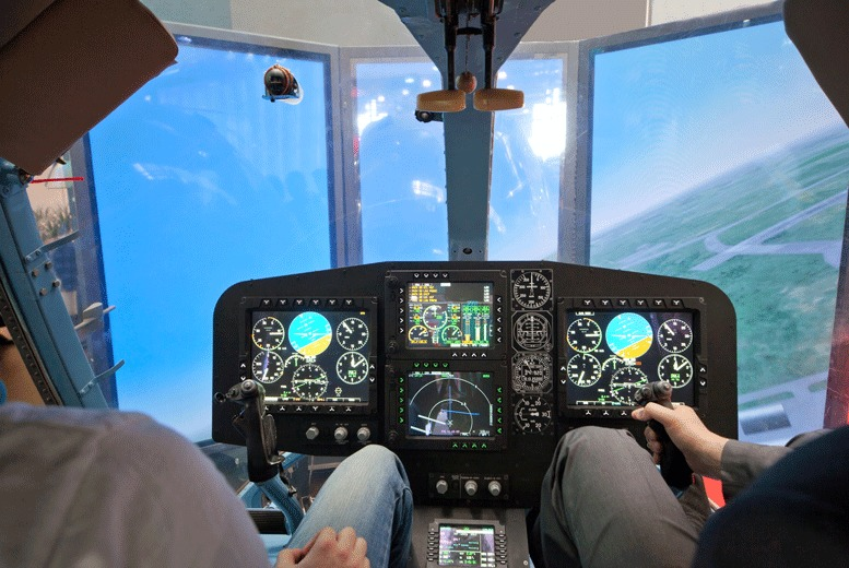 £29 instead of £69.98 for a one-hour flight simulator experience at Northumbria Flying School, Newcastle - save 59%