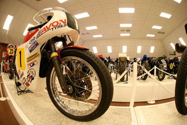 £9 instead of £17.90 for two adult tickets or £12.50 for a family ticket to the National Motorcycle Museum, Solihull - save up to 50%