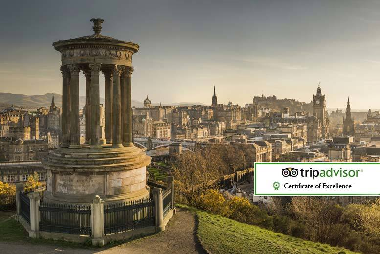 From £79pp (from Bargain Late Holidays) for a onenight Edinburgh stay with flights from £139pp for two nights or from £189pp for three  save up to 43