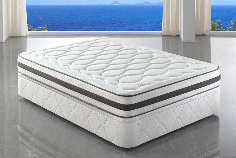 Tranquility 4000 Pocket Sprung Memory Foam Mattress National Deal From