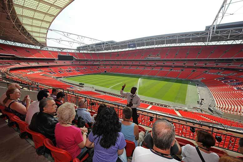 £18 for a 75minute guided Wembley Stadium tour for two adults from Buyagift!