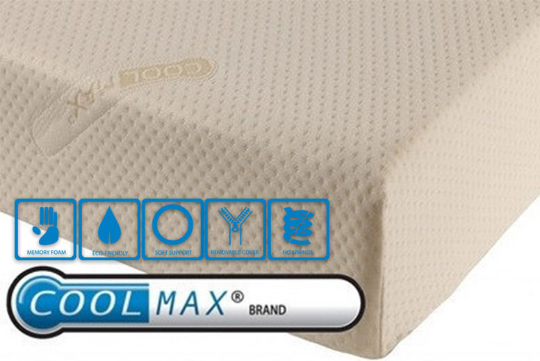 Coolmax Memory Foam Mattress