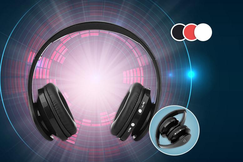 D2D Wireless Folding Headphones