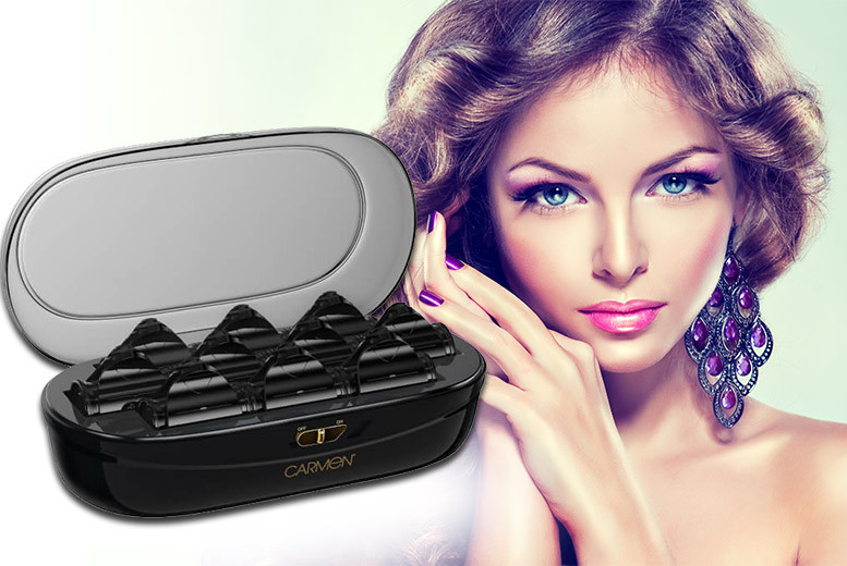 £19.99 instead of £24 for a pair of C81036 electric heated hair rollers from Deals Direct  save 17