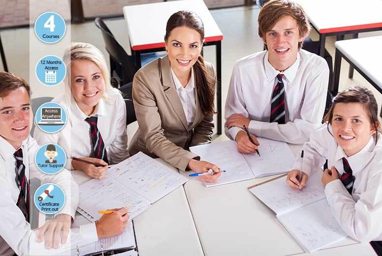 Secondary School Teaching Course Bundle - 4 Courses!