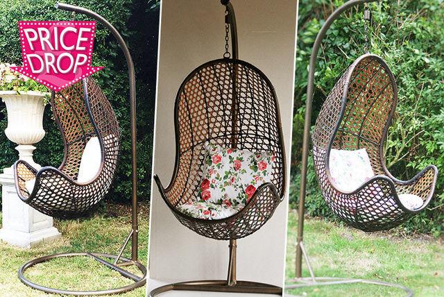Rattan Hanging Egg Chair | Shop | Wowcher