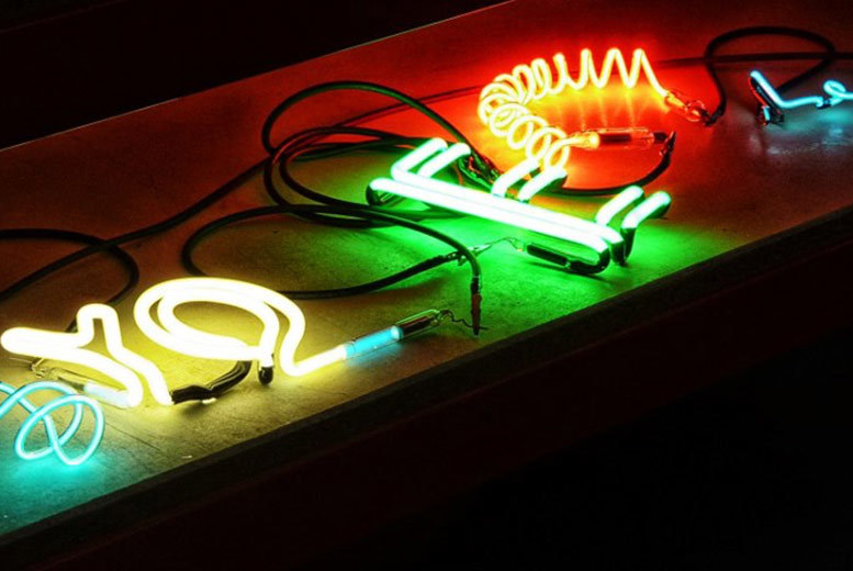 £19 instead of £75 for a two-hour neon glass making workshop from Neon Workshops, Wakefield - save 75%