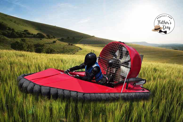 From £29 for a five-lap hovercraft experience, or from £34 for ten laps at Hover Limits - save up to 63%